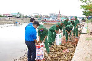 BĐBP Sóc Trăng hưởng ứng Chiến dịch 'Hãy làm sạch biển' năm 2018
