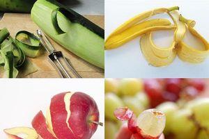 Những loại trái cây không nên bỏ vỏ: Chỉ cần ăn thường xuyên, cả năm không tốn tiền mua thuốc