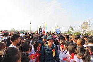 Phú Yên: 1.850 thanh niên đã lên đường nhập ngũ