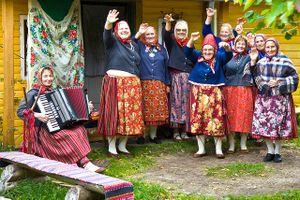 Đảo Kihnu - nơi phụ nữ nắm quyền