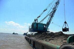 Cần Thơ: Hoạt động khai thác cát trên sông Hậu đã đi vào nề nếp