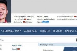 Transfermarkt chính thức 'hành động' vụ Quang Hải có đại diện ở Đức