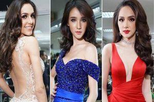 Giờ G đêm chung kết Miss International Queen 2018 đã điểm, Hương Giang lộng lẫy giữa dàn thí sinh với trang phục truyền thống nổi bật