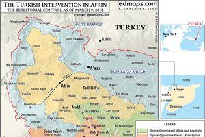 Thua tan nát trước Thổ Nhĩ Kỳ, người Kurd đổ tại...Nga