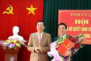 Quảng Ninh trao quyết định bổ nhiệm cho 4 nhân sự chủ chốt