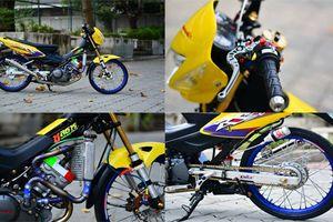 Xế nổ Honda Sonic 125 siêu đẹp của dân chơi Thái