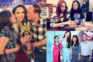 Loạt ảnh hiếm của Hương Giang Idol bên gia đình