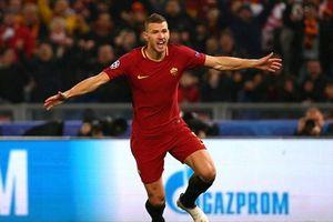Dzeko lập công, AS Roma lần đầu vào tứ kết sau 10 năm chờ đợi