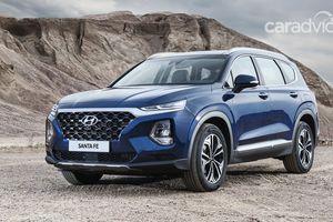 Hyundai SantaFe 2019 ra mắt với nội thất hoàn toàn mới