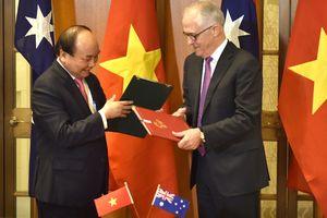 Tuyên bố chung đối tác chiến lược Việt Nam - Australia