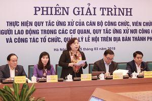 Hà Nội: Thường trực HĐND TP Hà Nội họp phiên giải trình về tổ chức, quản lý lễ hội