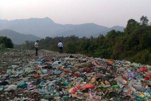 Mường Ảng (Điện Biên) xử lý rác thải gây ô nhiễm môi trường