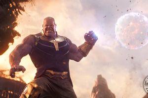 Ác nhân Thanos trong 'Avengers: Infinity War' bị chê giống hình nộm