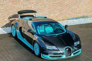 'Ông hoàng tốc độ' Bugatti Veyron Vitesse với phối màu Tiffany Blue