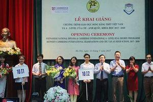 Hà Nội thêm 7 trường THCS công lập đào tạo song bằng