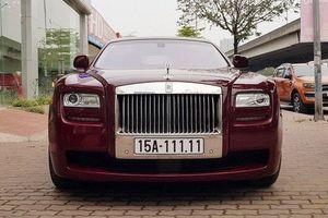 Đại gia Hải Phòng rao bán Rolls-Royce Ghost biển ngũ quý 1 thẳng tắp
