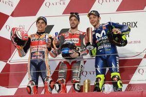 Chặng 1 MotoGP 2018: Đánh bại nhà vô địch Marquez, Dovizioso có chiến thắng