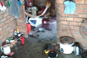 Tang vật gây án tại hiện trường vụ vợ chết, chồng nằm thoi thóp ở khu rẫy