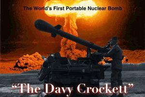 Kinh ngạc trước vũ khí hạt nhân mang vác đầu tiên trên thế giới