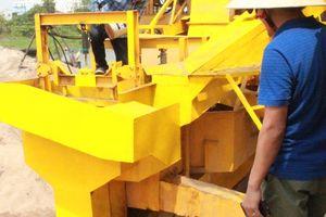 Công ty đầu tiên xử lý cát nhiễm mặn thành cát sạch