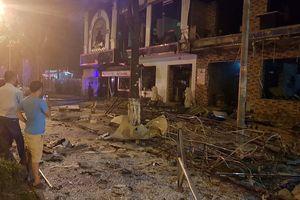 Nhà hàng nướng và lẩu phát nổ lúc giữa đêm