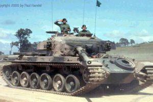 Giải mã cỗ xe tăng Anh từng tham chiến tại Việt Nam