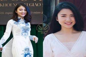 Những 'bóng hồng' nổi bật của Miss Ngoại giao 2018