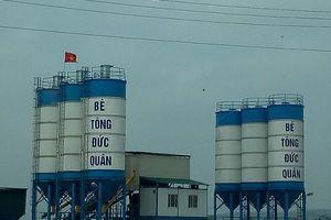 Bắc Giang: Ngang nhiên xây dựng trạm trộn bê tông trên đất nông nghiệp