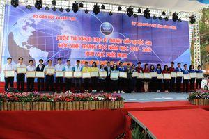 Có tới 12 dự án đoạt giải Nhất cuộc thi khoa học kỹ thuật cấp quốc gia khu vực phía Nam