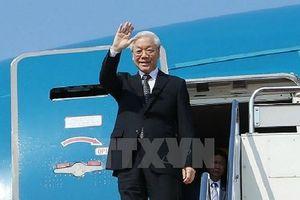 Tổng Bí thư Nguyễn Phú Trọng sẽ thăm Pháp và Cuba từ ngày 25/3