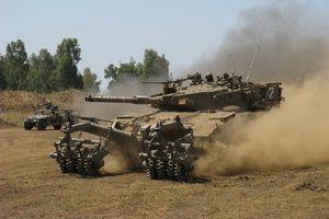 Xe tăng Merkava Mk IVM sau nâng cấp có sức mạnh vượt trội T-90?