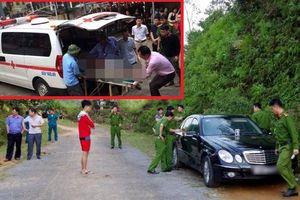 Thông tin mới vụ vợ chồng cùng con chết trên xe Mecedes ở Hà Giang