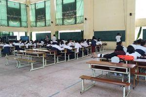 Học sinh Trường THPT Trần Nhân Tông đã đến nơi học mới