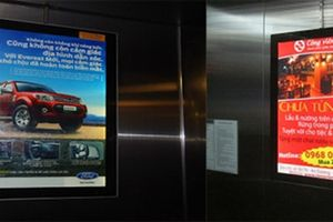 Từ vụ cháy chung cư: Gắn tivi quảng cáo trong thang máy có gây hỏa hoạn?