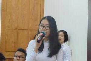 Lãnh đạo Sở GD-ĐT TPHCM đối thoại với 110 học sinh tiêu biểu của thành phố