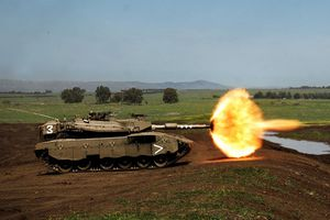 Israel ra mắt phiên bản tối tân của xe tăng Merkava IV