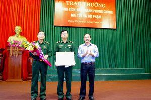 Khen thưởng đột xuất cho lực lượng phòng chống ma túy và tội phạm BĐBP Quảng Trị