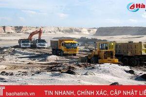 Dừng khai thác mỏ sắt Thạch Khê (bài 3): Khi thiết kế kỹ thuật, công nghệ khai thác còn bất cập!