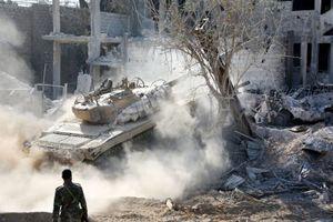 Quân đội Syria tung đòn vào 'pháo đài' thánh chiến Đông Ghouta, chiếm xưởng chế tạo xe bom cảm tử