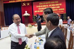 Thủ tướng Nguyễn Xuân Phúc gặp mặt cán bộ tỉnh Quảng Nam nhân kỷ niệm 43 năm giải phóng