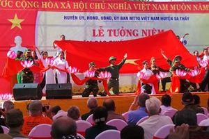 Kon Tum: Lễ tưởng niệm 50 năm hy sinh của hơn 200 cán bộ, chiến sỹ tại Chư Tan Kra