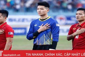 Tiền vệ Đinh Thanh Trung mang băng đội trưởng ĐT Việt Nam
