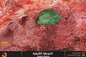 Sào huyệt thánh chiến Đông Ghouta sắp hoàn toàn giải phóng, quân đội Syria cứu hàng nghìn người ở Douma
