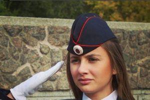 Vẻ rạng ngời của những 'bông hồng thép' trong lực lượng cảnh sát Nga