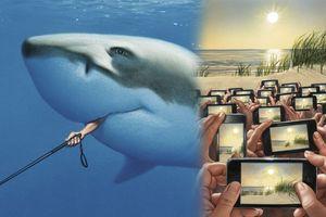 Bạn có hiểu hết ý nghĩa sau 16 bức tranh lột trần thực tế xã hội này?