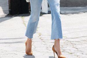 8 quy tắc mặc quần jeans lửng ống loe bạn gái nên biết