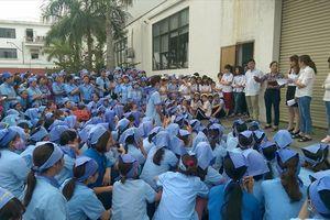 Thái Bình: 500 công nhân Cty Kỹ thuật điện tử Fu Hong VN ngừng việc tập thể