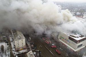 Con số mới nhất về thương vong trong vụ hỏa hoạn trung tâm mua sắm Nga