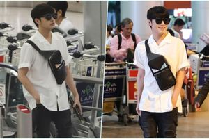Noo Phước Thịnh siêu điển trai trở về nước sau màn biểu diễn thành công tại HongKong