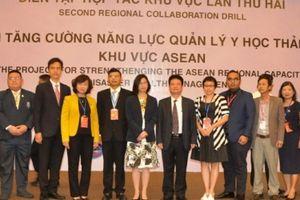 10 đội y tế quốc tế diễn tập ứng phó thảm họa tại Đà Nẵng